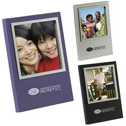 Custom imprinted 3 x 3 Photo Frame