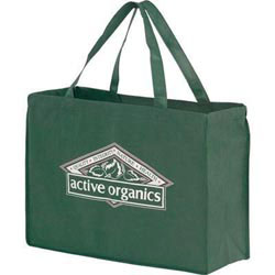 Custom imprinted Non-Woven Polypropylene Reusable Grocery Bag