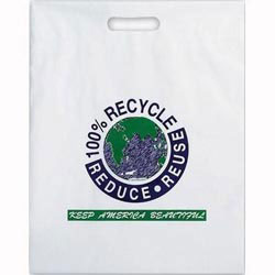 Custom imprinted Multi Color Recycle Design Bag