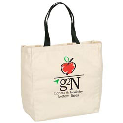 Custom imprinted Give-Away Tote