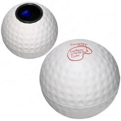 Custom imprinted Magic Golf Ball Stress Reliever