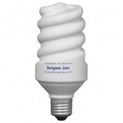 Custom imprinted Energy Saver Lightbulb Stress Reliever