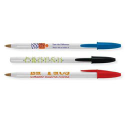 Custom imprinted Bic Style Pen