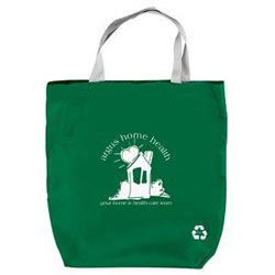 Custom imprinted Recycled Feather-Lite Tote