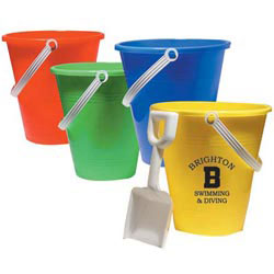 Custom imprinted Pail & Shovel 6