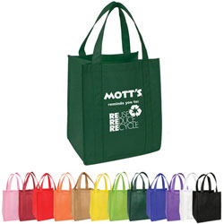 Custom imprinted Nonwoven Grocery Tote