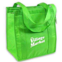 Custom imprinted Non-Woven Grocery Tote