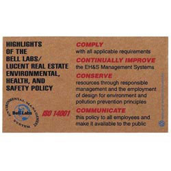 Custom imprinted Corrugated Jumbo Business Card Magnet