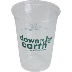 Custom imprinted Recycled 10 Oz. Clear Cup