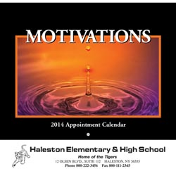 Custom imprinted Motivations Calendar