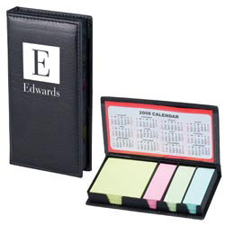 Custom imprinted Notepad And Calendar Portfolio