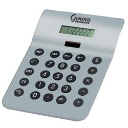 Custom imprinted Executive Desktop Calculator