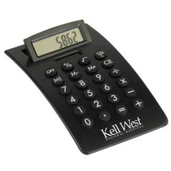 Custom imprinted Curved Desktop Calculator