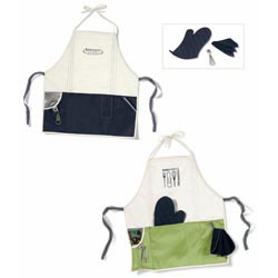 Custom imprinted Gourmet Apron Kit