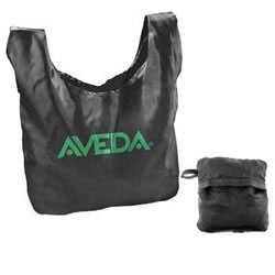 Custom imprinted Nylon Folding Tote