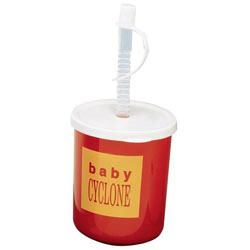 Custom imprinted 9 oz. Kid's Kup With Lid And Straw
