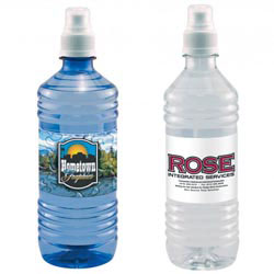 Custom imprinted 16.9 Oz. Bottled Water with Full Color Label