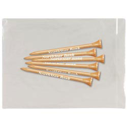 Custom imprinted 6 Plus Golf Tees