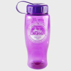 Custom imprinted Poly-Pure Sports Bottle With Tethered Lid