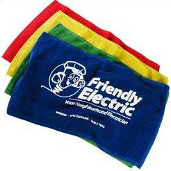 Custom imprinted Color Rally Towel