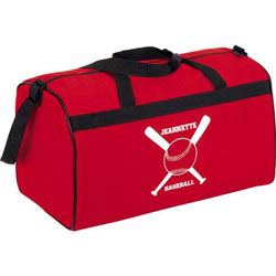 Custom imprinted Activity Sport Duffel