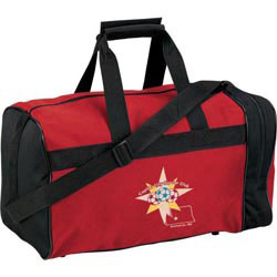 Custom imprinted Clubhouse Sport Duffel Bag