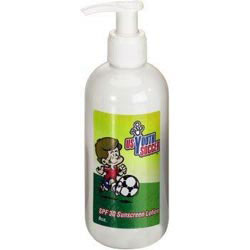 Custom imprinted SPF 30 Lotion 8 Oz. White Pump