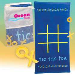Custom imprinted Tic-Tac-Towel Kit