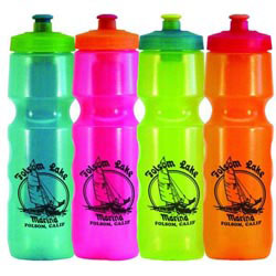 Custom imprinted 28 Oz. Cool Rider Freezer Stick Bottle
