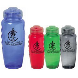Custom imprinted 30 Oz. Poly-Cool Bottle