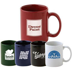 Custom imprinted 12 Oz. Newport Mug