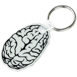 Custom imprinted Brain Key Fob