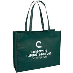Custom imprinted Large Nonwoven Tote