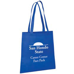 Custom imprinted Value Nonwoven Tote