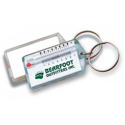 Custom imprinted Thermometer Key Ring