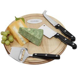 Custom imprinted Savory Cheese Set