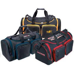 Custom imprinted 600D Polyester Sports Bag