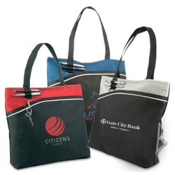 Custom imprinted 600D Sport Tote