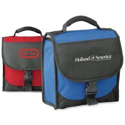Custom imprinted 600D Polyester Lunch Bag/Cooler