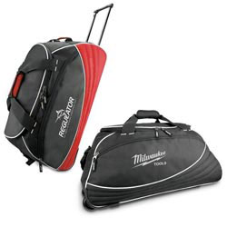 Custom imprinted 1000D Polyester Wheeled Duffel Bag