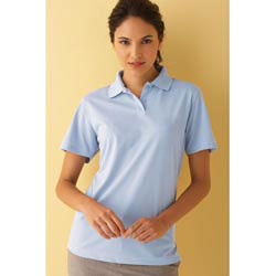 Custom imprinted Ultimate Ladies Pique Polo Shirt