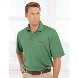 Custom imprinted Men's Cool Swing Micro Tech Solid Pique Polo Shirt