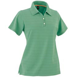 Custom imprinted Ladies Cool Swing Pima Tech Pique Polo