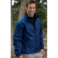 Custom imprinted Men's Softshell Performance Jacket