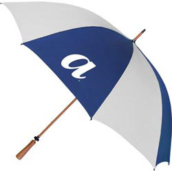 Custom imprinted Wooden Shaft Golf Umbrella