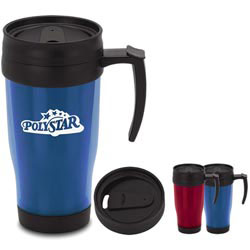 Custom imprinted Translucent Travel Mug - 15 oz.