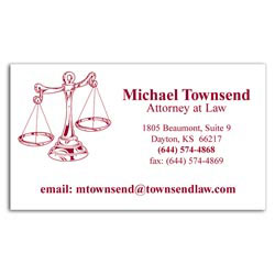 Custom imprinted Smart Buy Business Card