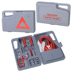 Custom imprinted 27 Piece Emergency Auto Kit