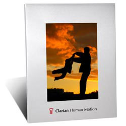 Custom imprinted 4 x 6 Aluminum Picture Frame