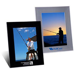 Custom imprinted 5 x 7 Plastic Picture Frame